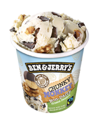 Chunky Monkey Non Dairy Ben Jerry Vegan Ice Cream