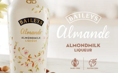 Certified Vegan Baileys Almond Milk Liquor is Gluten and Dairy Free (Alcohol Drink)