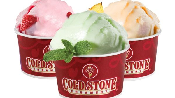 Diary Free Cold Stone Vegan Ice Cream Options