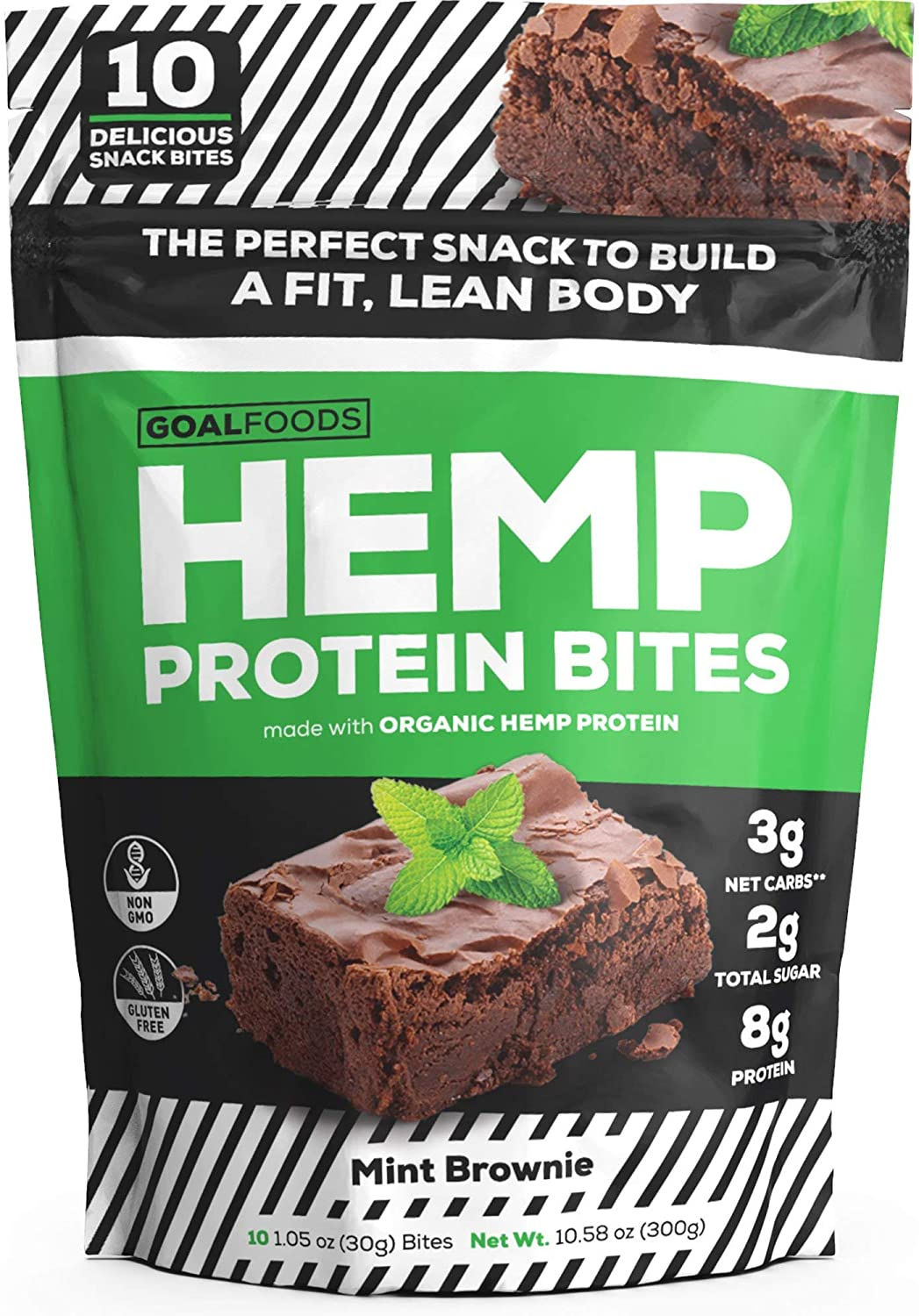 Hemp Protein Bars Vegan Snack on Amazon