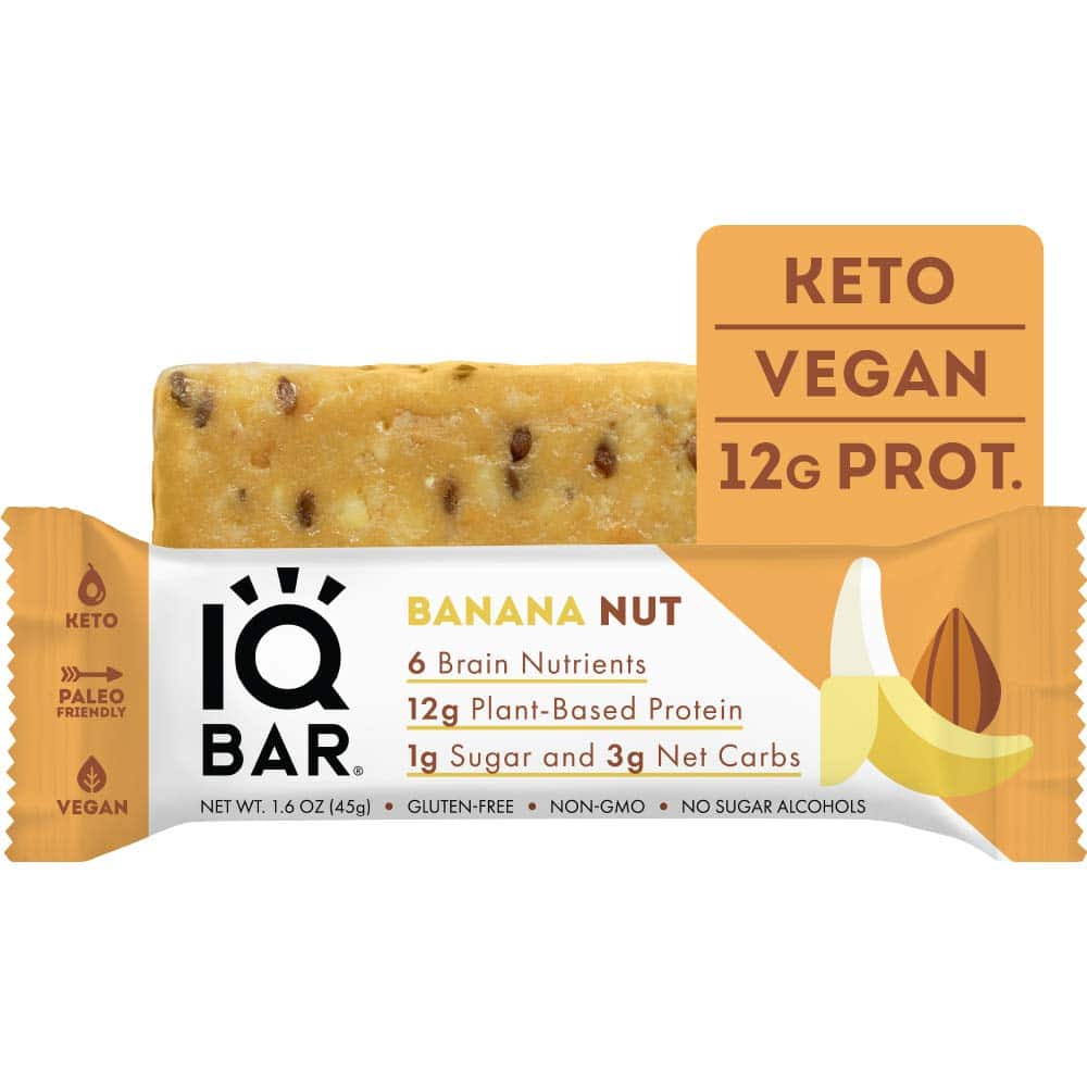 IQBAR Brain Body Protein Bars
