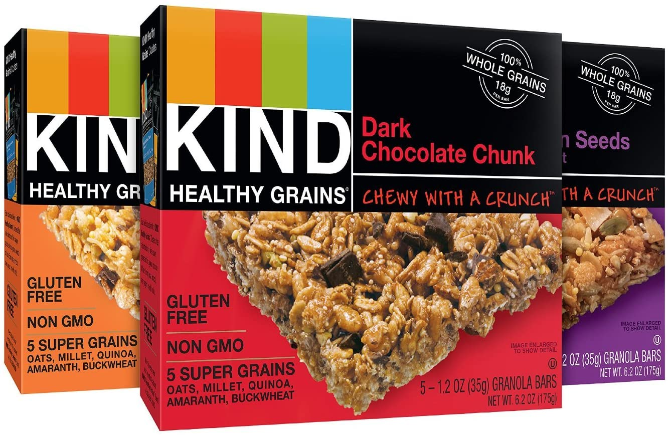 Kind Grain Healthy Vegans Bars
