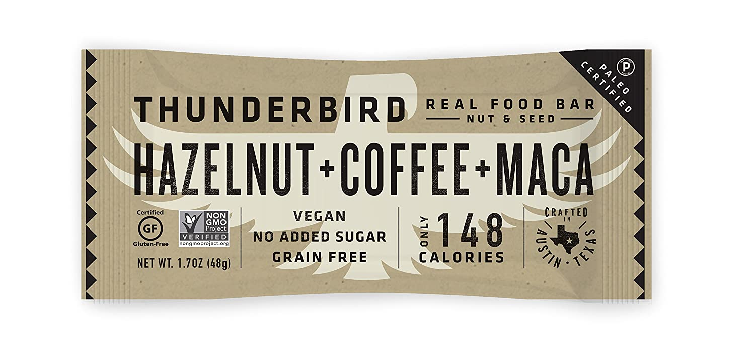 thunderbird paleo vegan snacks